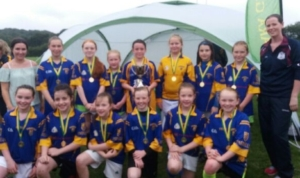 10th September 2016 – Under 12's girls win J Ffrench Cup