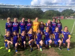 9.9.2017 U12 Girls end of season winning success-report by Fiona Corrigan