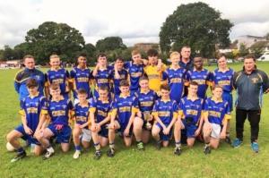 7.10.2017 U16 Championship Final – A fine performance