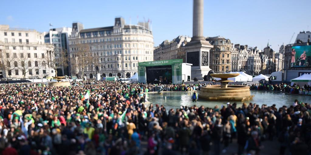 St Patrick's Day Parade London 18.3.2018