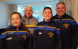Parnells GFC welcome new President – Willie Moffatt