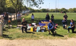 Parnells deliver 'Appreciation Packages' in the Community
